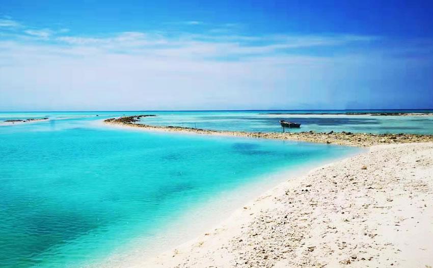 课文《富饶的西沙群岛》主要描述什么样的西沙风景?